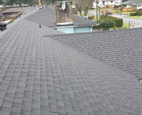 quantum roofing completed job